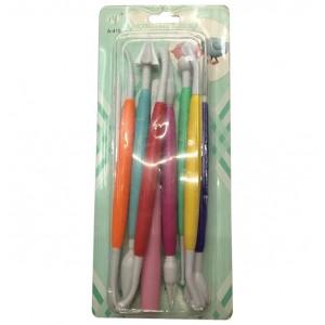 Σετ 10 εργαλεία διαμόρφωσης ζαχαρόπαστας 00101467