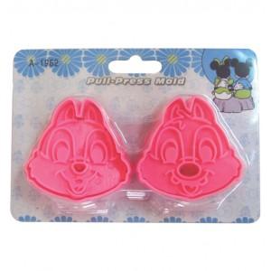 Σετ 2 πρεσαριστά κουπ πατ ζαχαρόπαστας Chip & Dale 00101474