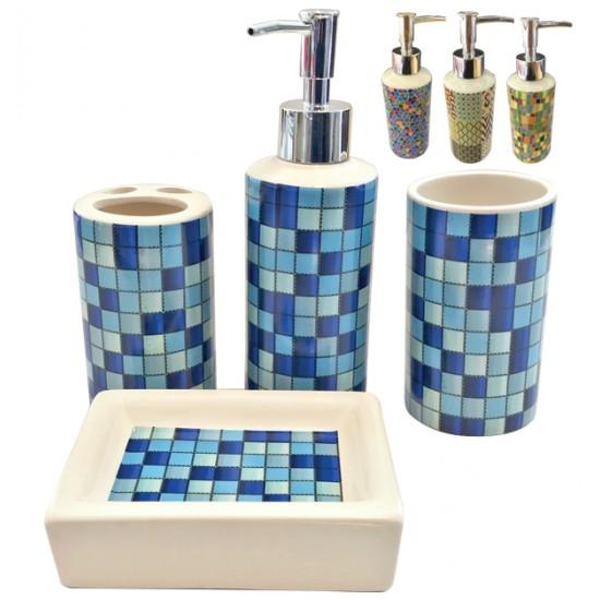 Κεραμικό σετ μπάνιου 4 τεμαχίων [00401073]