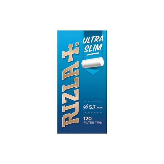 Φιλτράκια στριφτών τσιγάρων Rizla ultra slim 120 [10706006]