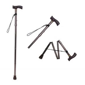 Σπαστό επεκτεινόμενο μπαστούνι βάδισης με λαβή Τ 30501259