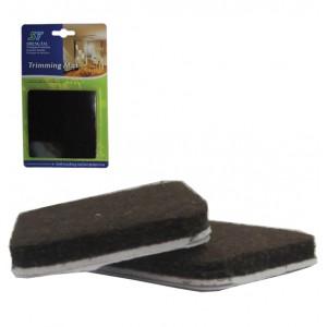 Σετ 2 τετράγωνα αυτοκόλλητα προστατευτικά τσοχάκια επίπλων 30501210