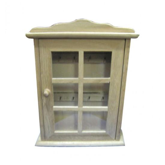 Κλειδοθήκη ξύλινη 28,5x21,5x5,5cm [20601119]