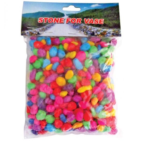 Διακοσμητικές πέτρες χρωματιστές 500γρ. [10170021]