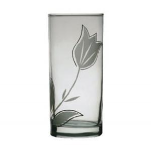 Ποτήρια νερού γυάλινα 6αδα-τουλίπα 70301013-1
