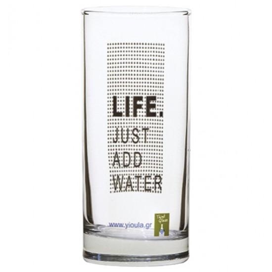 Σετ 6 ποτήρια νερού 27cl Life Just Add Water [70301028]