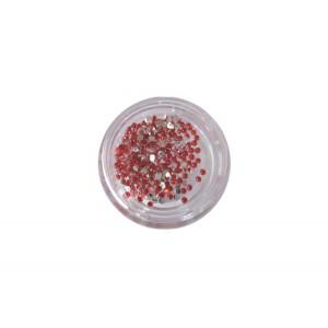 400 κόκκινα στρας στρογγυλά διαμαντάκια 40502009-4