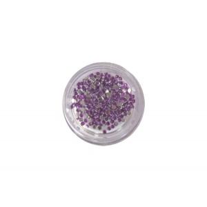 400 μωβ στρας στρογγυλά διαμαντάκια 40502009-6