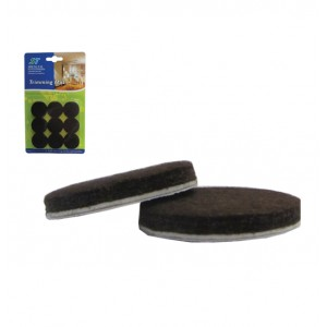 Σετ 18 στρογγυλά αυτοκόλλητα προστατευτικά τσοχάκια επίπλων 30501215