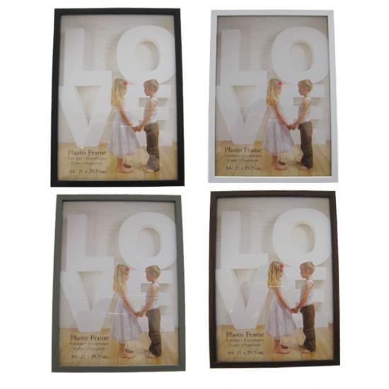 Πλαστική κορνίζα Α4 30x21 cm [10401219]