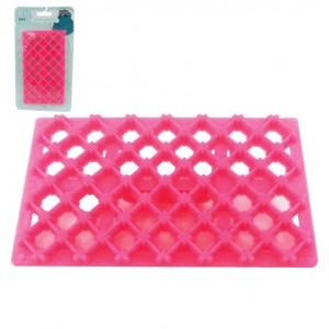 Ανάγλυφη σφραγίδα διαμόρφωσης ζαχαρόπαστας - Ρόμβος 00101411