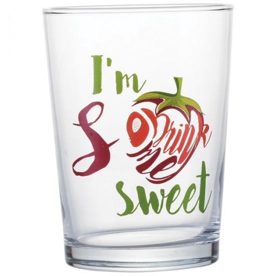 Σετ 3 γυάλινα ποτήρια νερού Drink Me 51cl [70301047]
