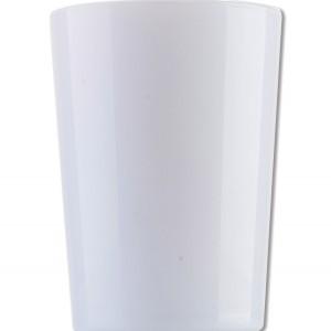 Λευκό γυάλινο ποτήρι νερού 51cl 70301050