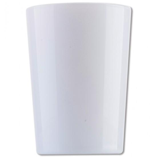 Λευκό γυάλινο ποτήρι νερού 51cl [70301050]