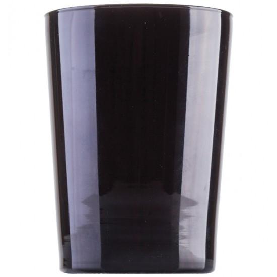 Μαύρο γυάλινο ποτήρι νερού 51cl [70301051]