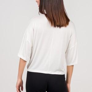 Α20 Μπλούζα ελαστική από βισκόζι σε φαρδιά γραμμή