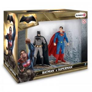 Schleich Justice League 22529 Batman εναντίον Superman