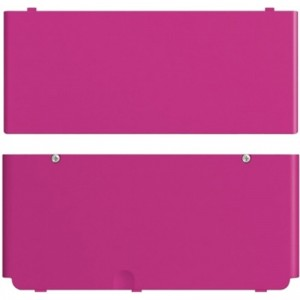 Nintendo NEW 3DS Cover Plates Pink Purple New in Original Pack