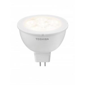 TOSHIBA LED 4.0W (20W)12V MR16 GU5.3 3000K Warm-White