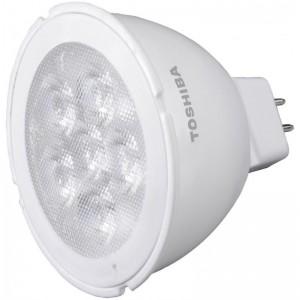 TOSHIBA LED 5.5W 12V MR16 GU5.3 3000K Warm-White