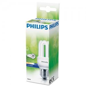 Philips Gεnie Λαμπτηρας Οικονομιας E27 Ψυχρο Φως 8 Watt 400lm
