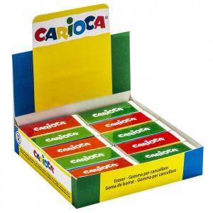 ΓΟΜΑ ΛΕΥΚΗ CARIOCA ΚΥΤ=20ΤΕΜ  Carioca 40150