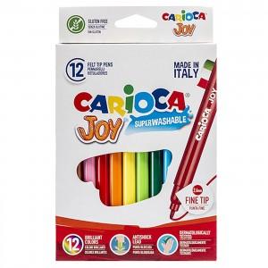 ΜΑΡΚΑΔΟΡΟΙ CARIOCA JOY 2.6mm ΣΕΤ=12 ΧΡΩΜΑΤΑ  Carioca