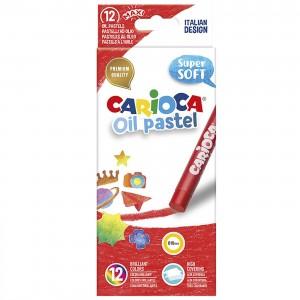 OIL PASTEL CARIOCA  ΣΕΤ=12ΧΡΩΜ.  Carioca 43277