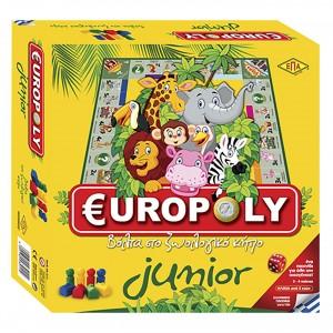 EUROPOLY JUNIOR 27x27cm ΕΠΑ 03-211