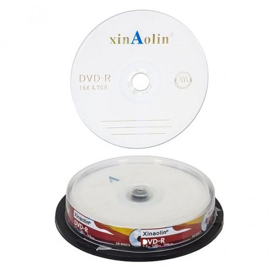 DVD ΣΕ ΘΗΚΗ ΓΙΑ 10 DVD  Justnote 10932